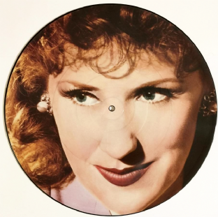 "Anita Dobson ‎- Talking Of Love (12"") (Picture Disc) (EX/NM)"